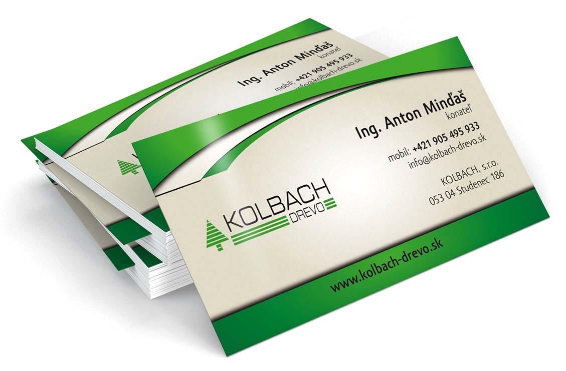 Mondo - reklamná agentúra - vizitky Kolbach