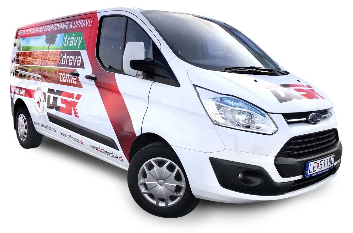 Mondo - reklamná agentúra - polep auta DCSK