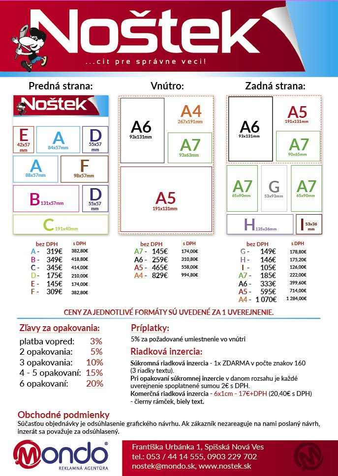 Nostek_cennik